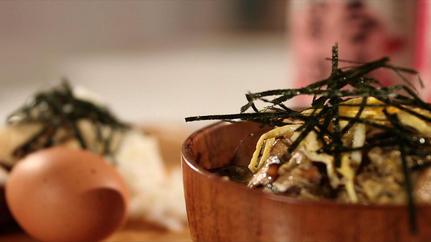 【豆油伯媽咪搵醬-春筍鮮菇香樁丼】