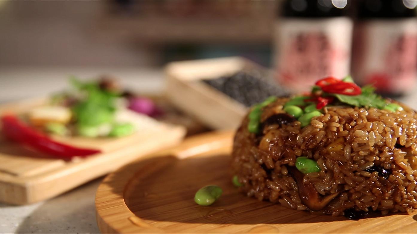 豆油伯媽咪搵醬 蔬食料理-超簡易古早味油飯