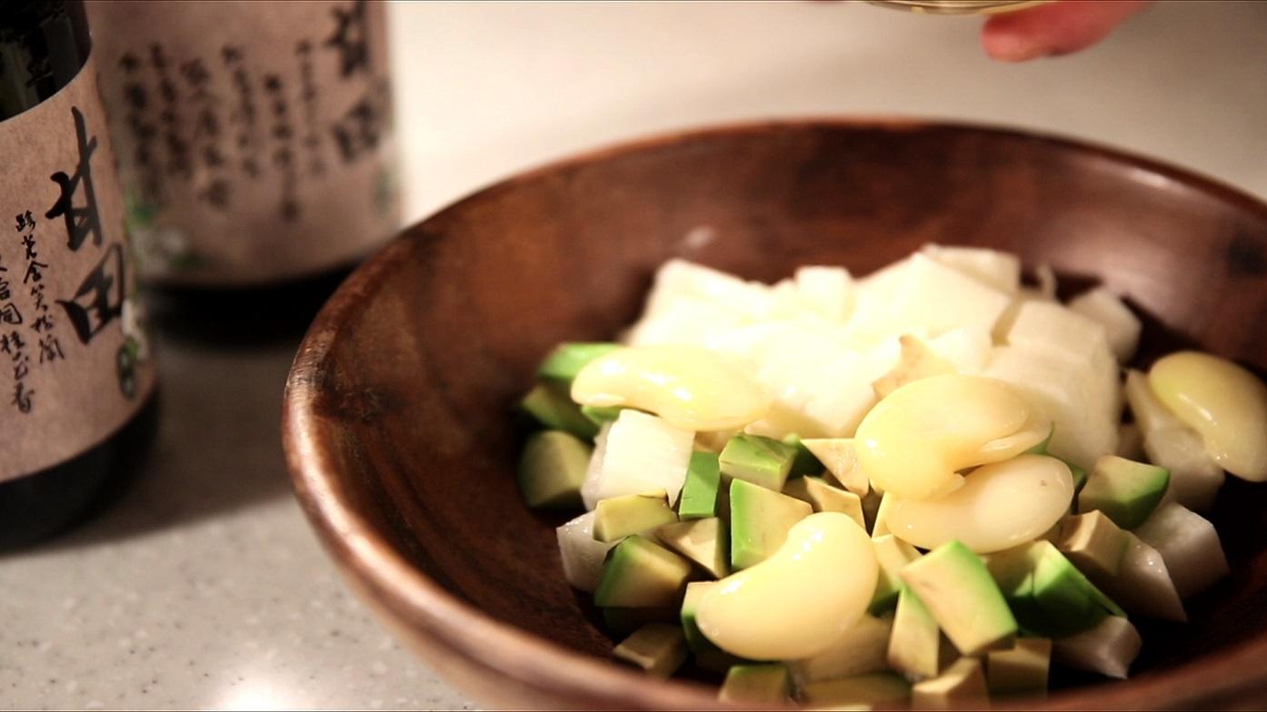 豆油伯媽咪搵醬-蔬食料理-酪梨沙拉