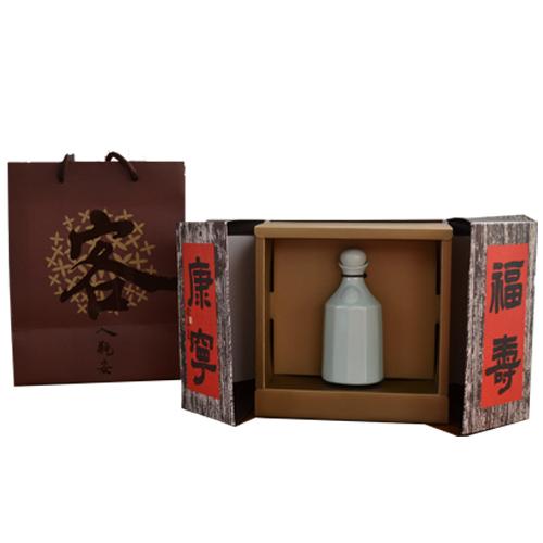 竹田驛客缸底醬油8入送客家花瓶